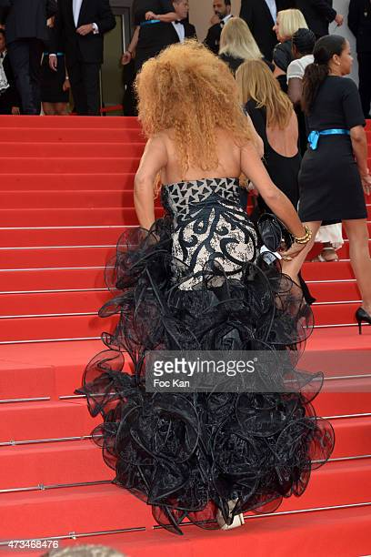 Afida Turner attends the'Mad Max Fury Road' Premiere during the 68th annual Cannes Film Festival on May 14 2015 in Cannes France