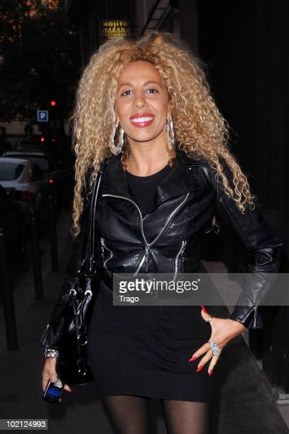 Afida Turner Sightings in Paris on June 15 2010 in Paris France
