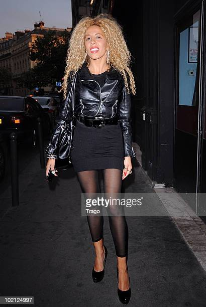 Afida Turner Sightings in Paris on June 15, 2010 in Paris, France.