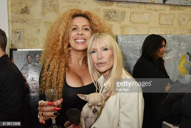 Afida Turner TV presenter Patricia Charpentier and Dog Iti attend ÇÊRencontre Et PartageÊÈ Entre Specialistes du 7 eme Art Hosted by AK2A AGENCY at...