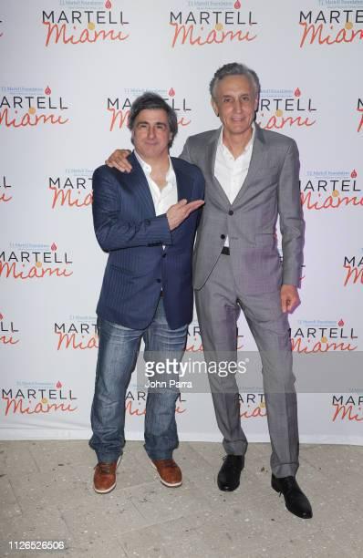 Afo Verde and Inigo Zabala attend the TJ Martell 2019 Miami Dinner at Estefan Kitchen on February 20 2019 in Miami Florida