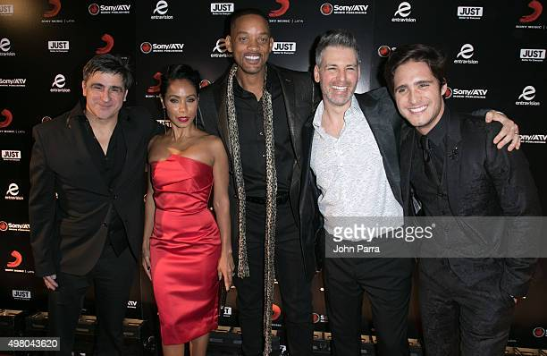 Afo Verde Jada Pinkett Smith Will Smith and Diego Boneta attend Sony Music Latin's Official Latin Grammy After Party at XS nightclub at Encore Las...
