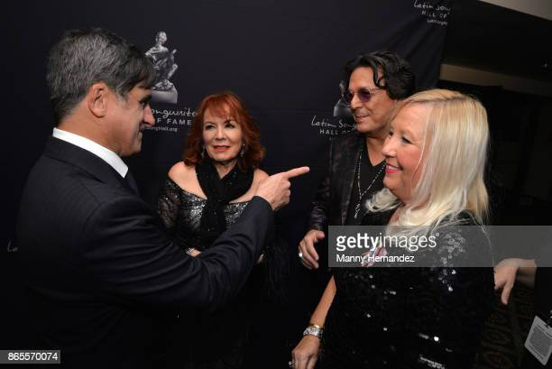 Afo Verde Vikki Carr Rudy Perez and Betsy Perez at the 5th Annual Latin Songwriters Hall Of Fame's La Musa Award at James L Knight Center on October...