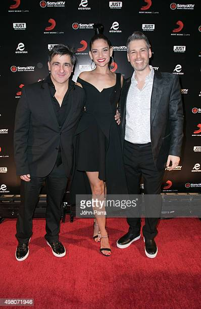 Afo VerdeNatalia Jimenez and Nir Seroussi attend Sony Music Latin's Official Latin Grammy After Party at XS nightclub at Encore Las Vegas on November...