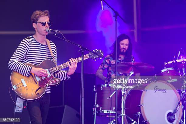 Afonso and Carlos BB of Keep Razors Sharp performing at the Vodafone stage in Rock in Rio on May 19 2016 in Lisbon Portugal