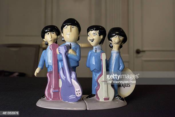 Aforementioned salt and pepper shaker set themed on The Beatles