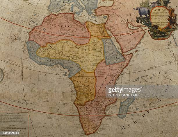 Africa by Guillaume de l'Isle Paris 1700 Engraving