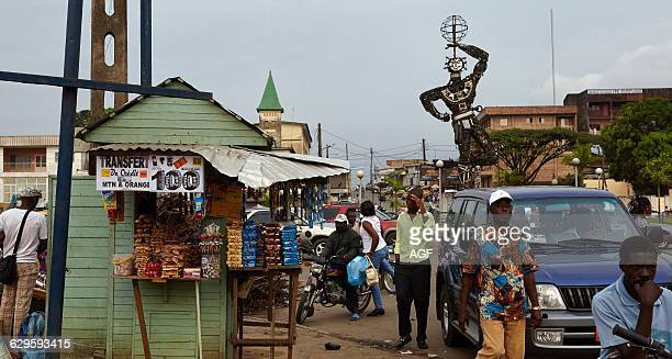 Africa Cameroon Littoral Province Douala Town stylelife In The Street
