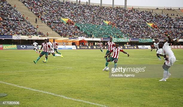 Africa Cup of Nations qualification Group K game between Senegal and Burundi is played at Leopold Sedar Senghor Stadium in Dakar, Senegal on June 13,...