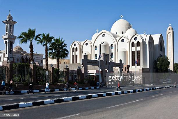 Africa Egypt Aswan The Coptic Cathedral