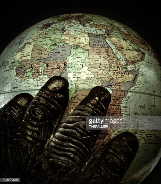 africa in my heart - animal finger stock photos and pictures
