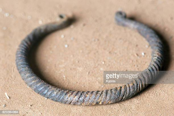 Africa, Mali, Dogon Area, View Of African Bracelet (Found By Explorer Year 2000)