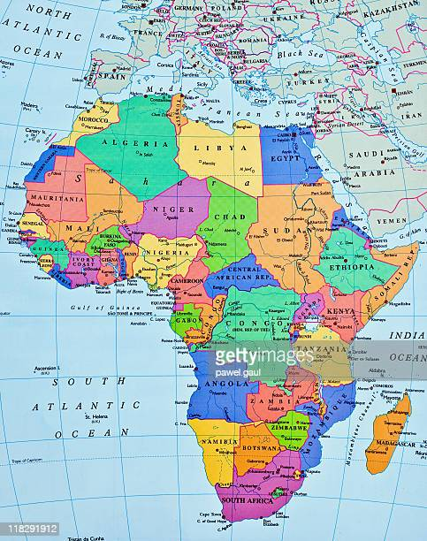 Images Of Africa Map