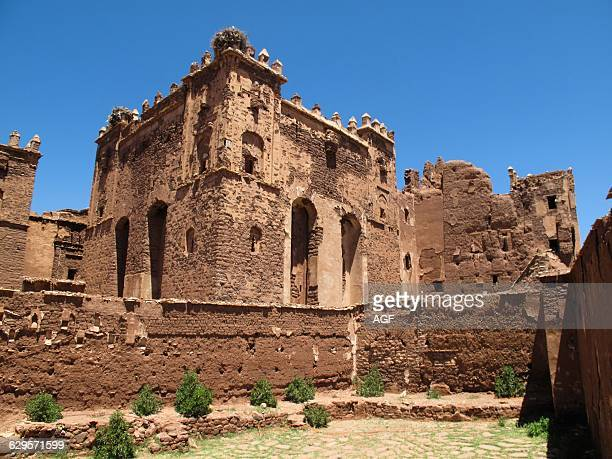 Africa. Morocco. Telouet. It Is A Kasbah Along The Former Route Of The Caravans From The Sahara Over The Atlas Mountains To Marrakech.