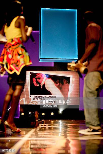 Africa Music Awards with Zain at the Moi International Sports Centre on October 10 2009 in Nairobi Kenya