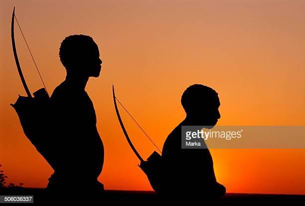 Africa Namibia Bushmen