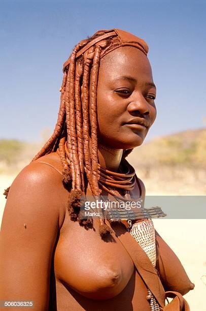 Africa Namibia Kaokoland Himba Ethnic Group
