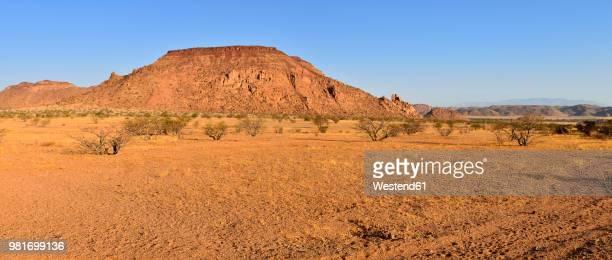 Africa, Namibia, Kunene Province, Namib Desert, Damaraland, Twyvelfontein, Aba Huab valley, granite landscape
