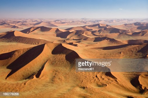 Africa Namibia Namib Desert Aerial View Photo | Getty Images