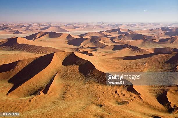 Africa, Namibia, Namib Desert, aerial view