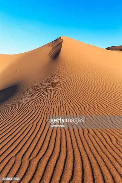 Africa, Namibia, Namib Desert, View to desert dunes at Namib-Naukluft National Park