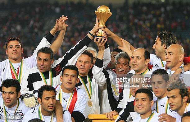Africa Nations Cup 2006 Final Egypt vs Ivory Coast Egypt won the ANC for a record fifth time when they beat Ivory Coast 42 on penalties Egypt's...