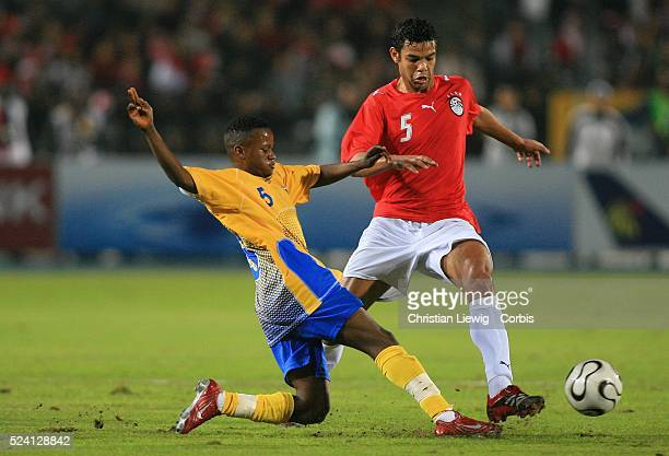 Africa Nations Cup QuarterFinals Egypt vs Democratic Republic of Congo Egypt won 41 Biscotte Mbala Mbuta and Abdel Zaher ElSakka