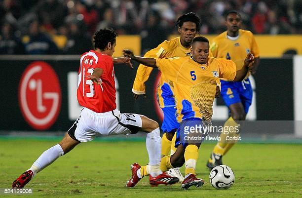 Africa Nations Cup QuarterFinals Egypt vs Democratic Republic of Congo Egypt won 41 Biscotte Mbala Mbuta