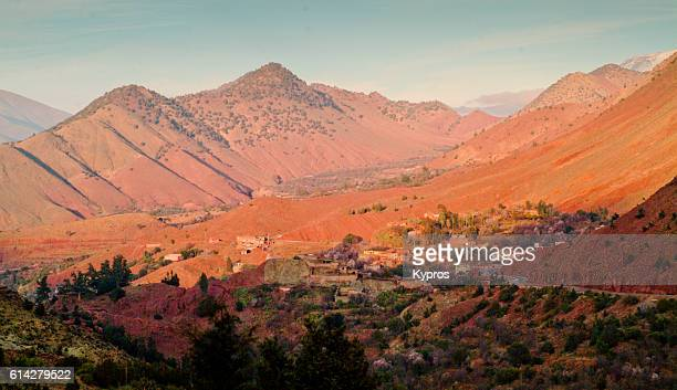 Africa, North Africa, Morocco, View Of Atlas Mountains (2007)