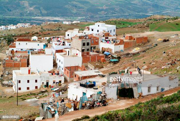 Africa, North Africa, Morocco, View Of Village In Atlas Mountains (Year 2007)