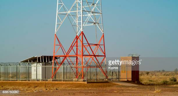 Africa, North Africa, Niger, View Of Cell Phone Communications Tower (Year 2007)