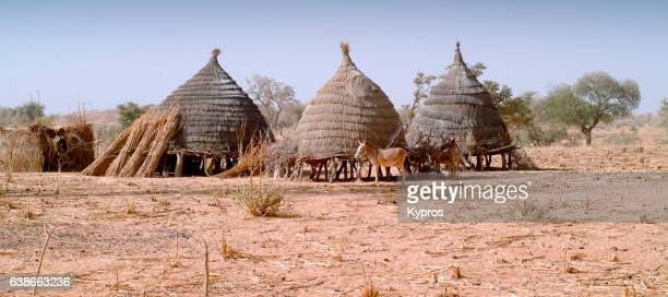 Africa, Sahara Desert, North Africa, Niger, View Of Village Homes (Year 2007)