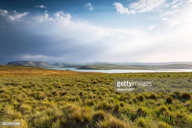Africa, South Africa, Harrismith, Sterkfontein Dam, Drakensberge