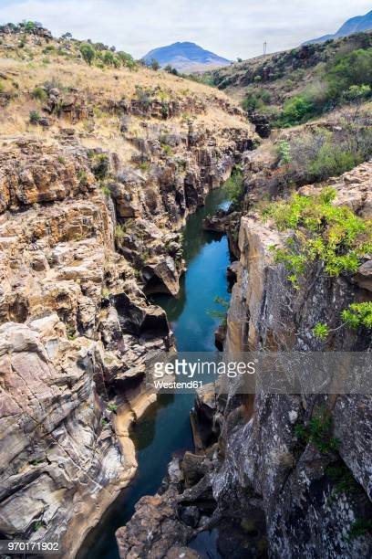 africa, south africa, mpumalanga, bourke's luck potholes - luck stock photos and pictures