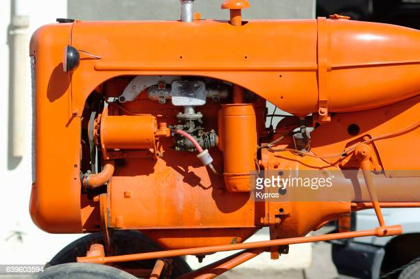 Africa, South Africa, View Of Tractor Diesel Engine (Year 2009)