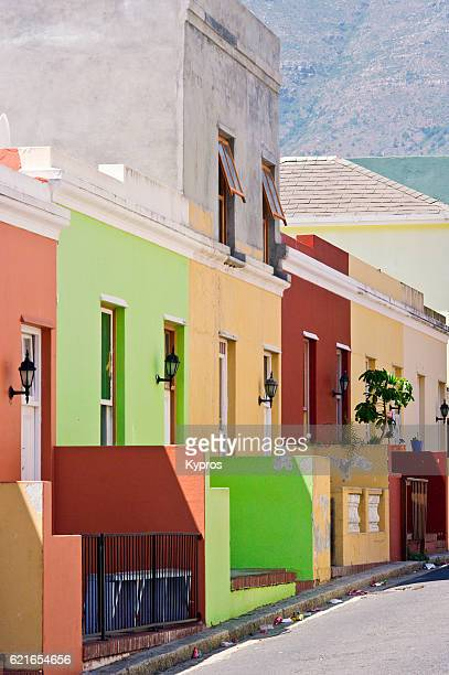 Africa, Southern Africa, South Africa, Cape Town, View Of Bo-Kaap, District Six, The Malay Area