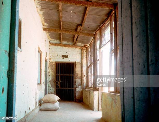 Africa, Sudan, North Sudan, Nyala Area, View Of African Prison Cell On Border With Central African Republic. No Protection From Malaria Carrying Mosquitoes. (Year 2000)