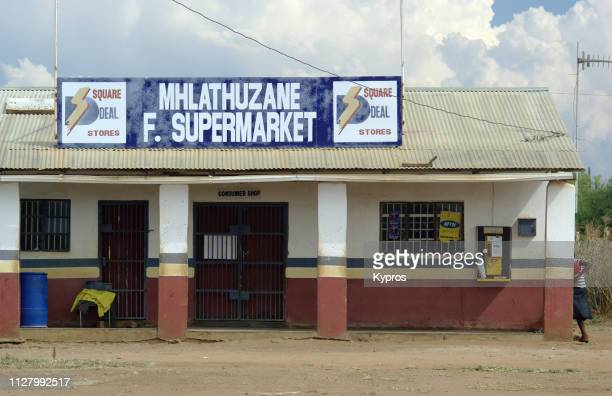 africa, swaziland, 2009: view of general store or supermarket - {{asset.href}} stock pictures, royalty-free photos & images