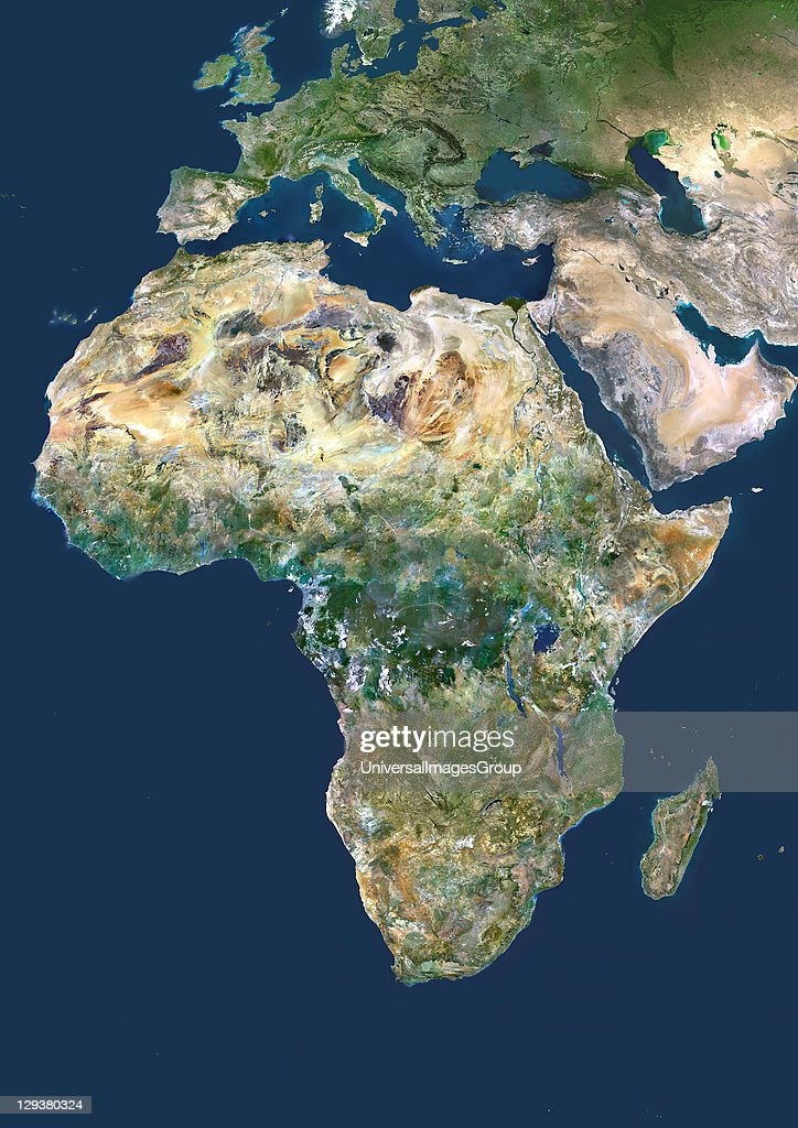 Africa, True Colour Satellite Image : News Photo