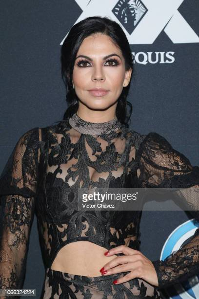 Africa Zavala attends the 8th anniversary of EstiloDF at Foro Masaryk on November 28 2018 in Mexico City Mexico
