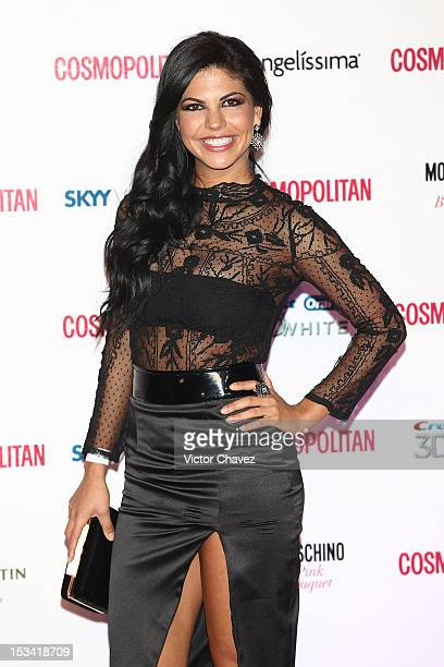 Africa Zavala attends the Cosmopolitan magazines 40th anniversary celebration at the Westin Hotel on October 4 2012 in Mexico City Mexico