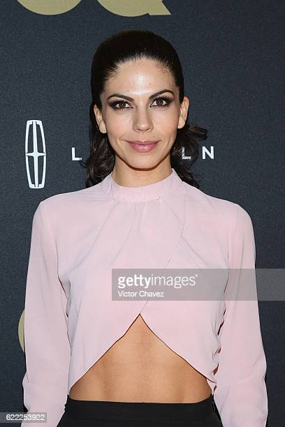 Africa Zavala attends the GQ Men Of The Year Awards 2016 at Torre Virrelles on November 9 2016 in Mexico City Mexico