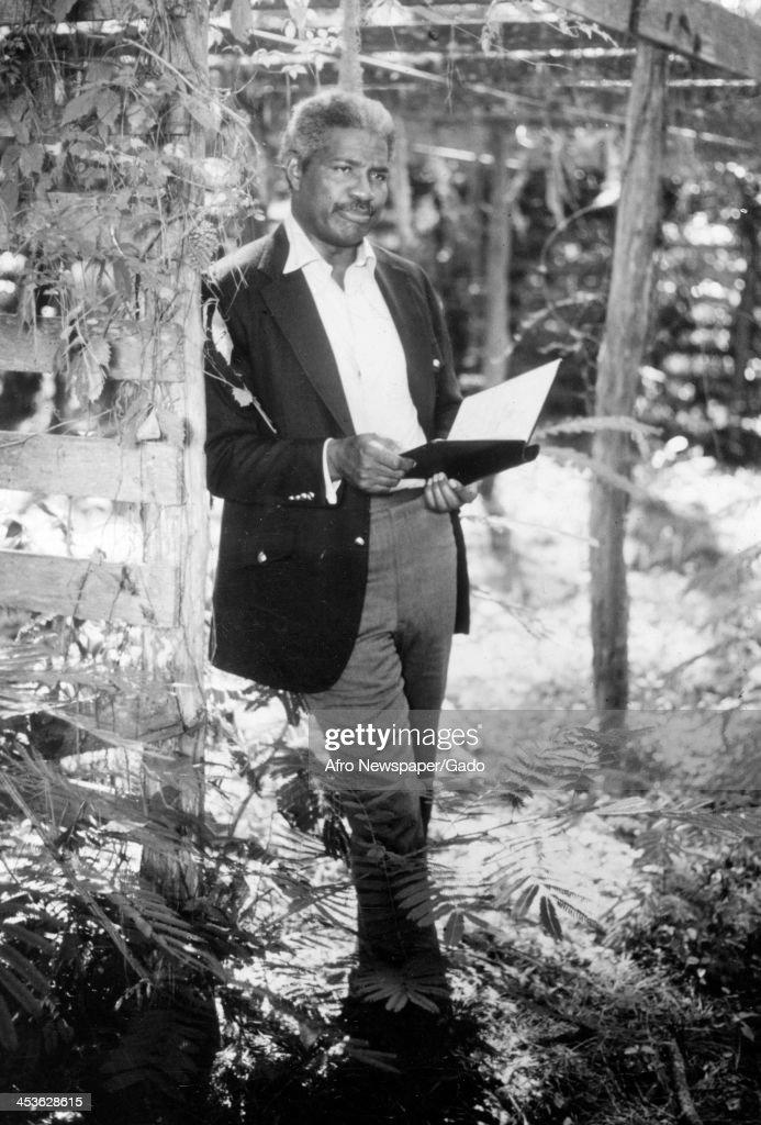 'Ossie Davis Portrait' : News Photo