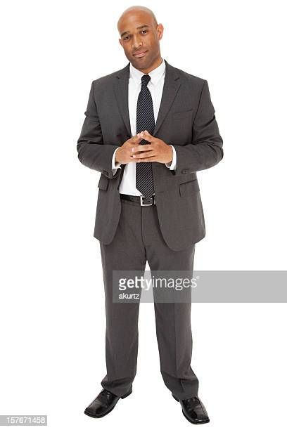 african american businessman in a suit and tie - gray suit stock pictures, royalty-free photos & images