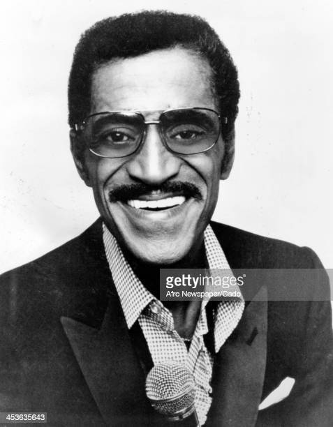 African American entertainer Sammy Davis Junior prior to a performance of The Golden Years Las Vegas Nevada 1970