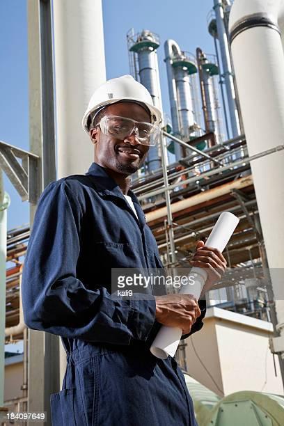 African American industrial worker