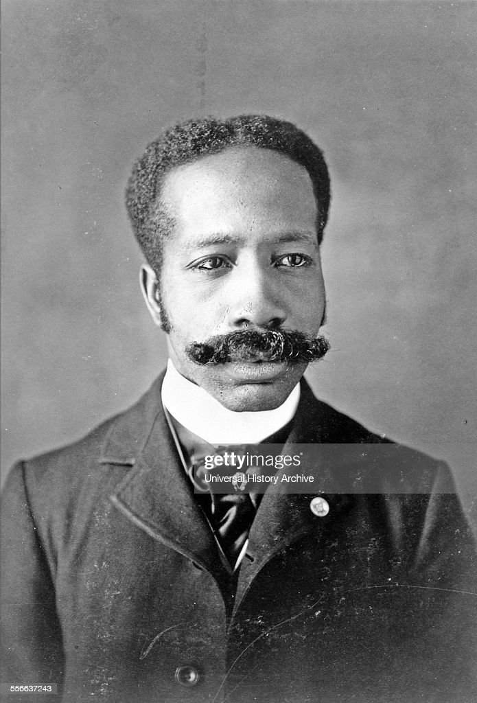 African American man, head-and-shoulders portrait, facing. Types of American Negroes, compiled and prepared by W.E.B. Du Bois. : News Photo