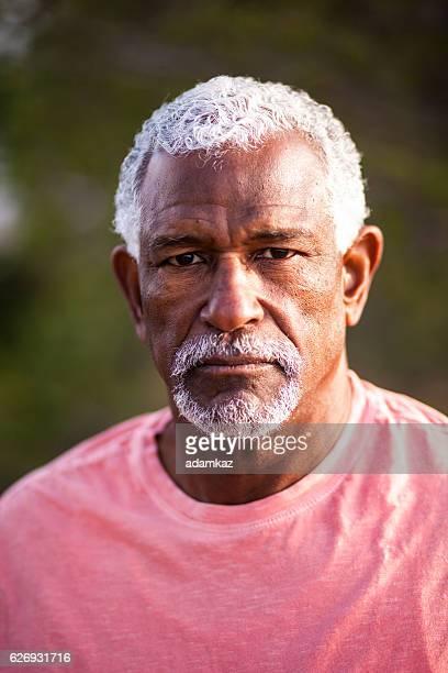 African American Man Outdoor Portrait