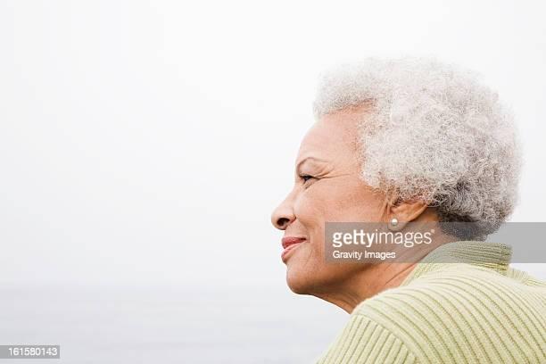 African American senior woman