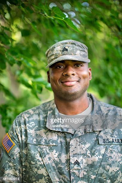 African American Sergeant U.S. Army